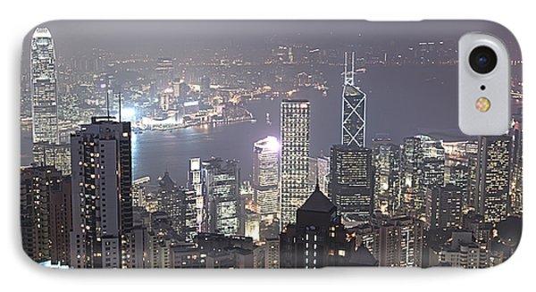 Hongkong Phone Case by MotHaiBaPhoto Prints