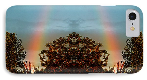 The Rainbow Effect IPhone Case by Sue Stefanowicz