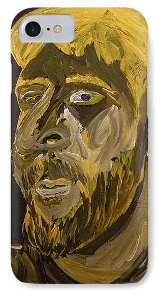 IPhone Case featuring the painting Self Portrait by Joshua Redman