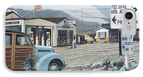 29 Palms Flood Mural Phone Case by Bob Christopher