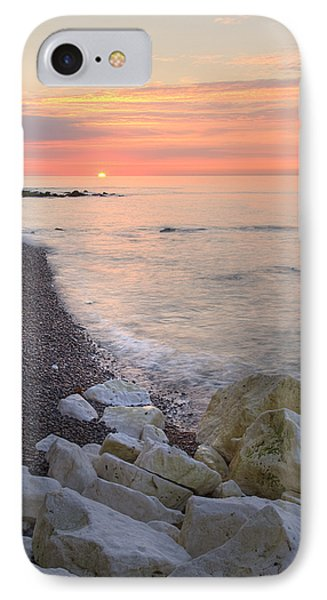 Sunrise At The White Cliffs Of Dover IPhone Case