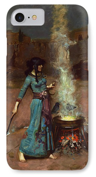 The Magic Circle IPhone Case by John William Waterhouse