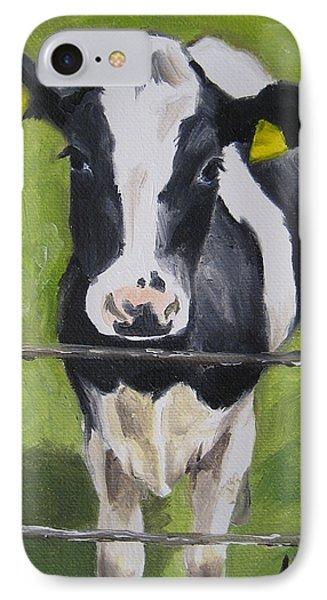A Heifer Phone Case by Jindra Noewi