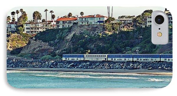 Amtrak Surfliner Phone Case by Traci Lehman