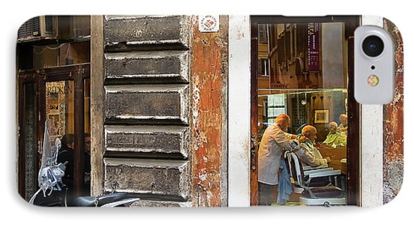IPhone Case featuring the photograph Barbiere by Stefan Nielsen