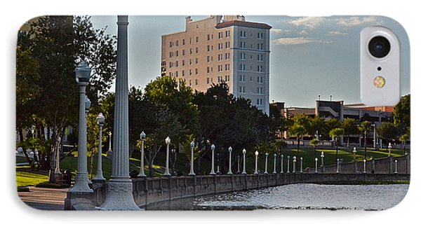 Beautiful Downtown Lakeland IPhone Case by Carol  Bradley