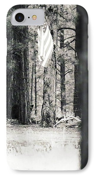 IPhone Case featuring the photograph Black Bear Pledge  by Juls Adams