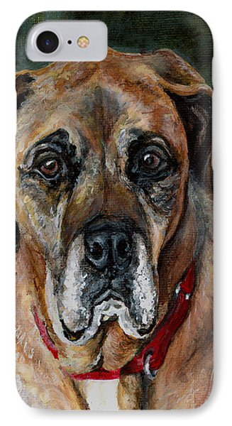 Boo For Dogtown IPhone Case by Mary-Lee Sanders