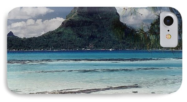 IPhone Case featuring the photograph Bora Bora by Mary-Lee Sanders