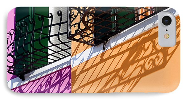 IPhone Case featuring the photograph Burano Houses by Stefan Nielsen