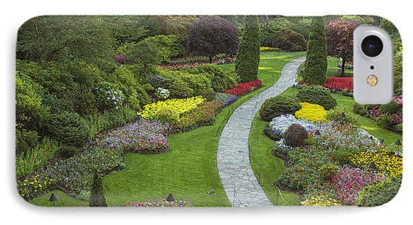 Butchart Gardens IPhone Case by Eunice Gibb