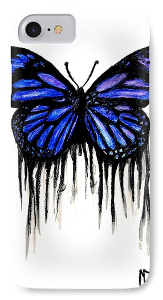 Butterfly Tears Phone Case by Michael Grubb