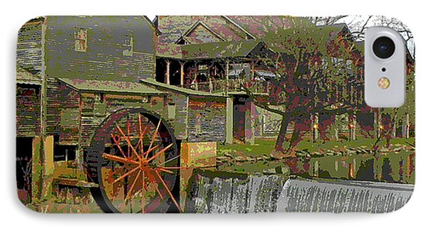 By The Old Mill Stream Phone Case by Larry Bishop