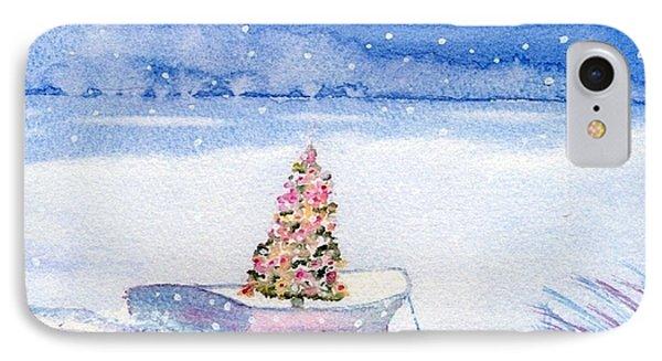 Cape Cod Christmas Tree Phone Case by Joseph Gallant