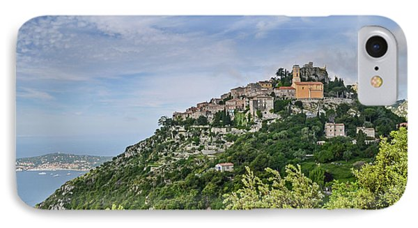 Chateau D'eze On The Road To Monaco IPhone Case