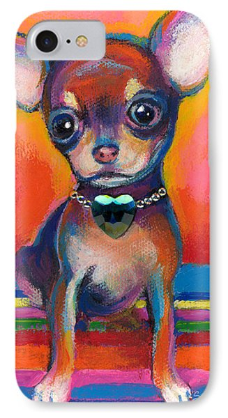 Chihuahua Dog Portrait IPhone Case