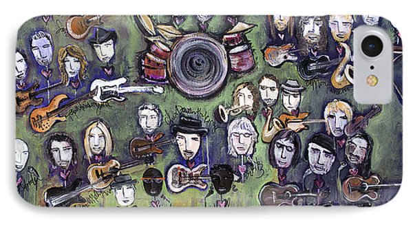 Chris Daniels And Friends Phone Case by Laurie Maves ART