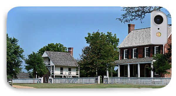 Clover Hill Tavern Appomattox Court House Virginia Phone Case by Teresa Mucha