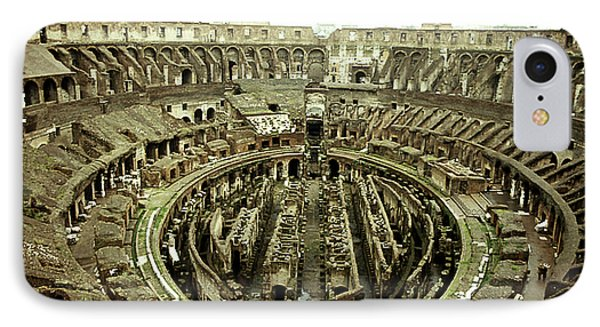 Colosseum IPhone Case by Emanuel Tanjala