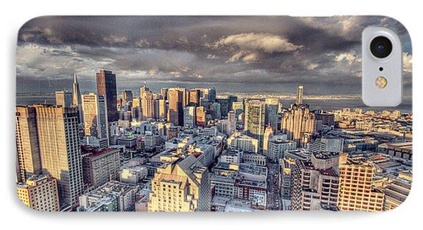 Downtown San Francisco IPhone Case by Ariane Moshayedi