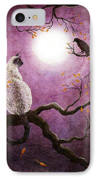 Dreaming Of A Raven IPhone Case