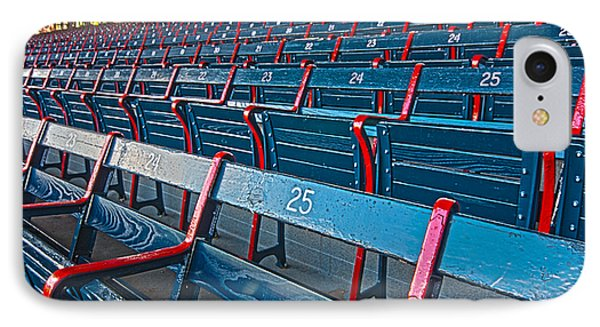 Fenway Bleachers Phone Case by Michael Yeager