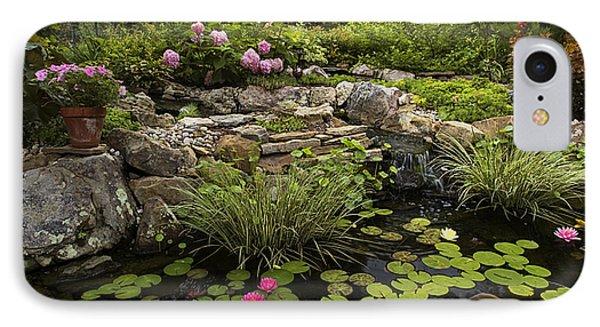 Garden Pond - D001133 Phone Case by Daniel Dempster