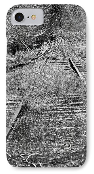 IPhone Case featuring the photograph Ghost Rail by Juls Adams