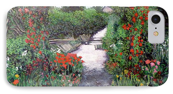 Giverney Garden Path Phone Case by Tom Roderick