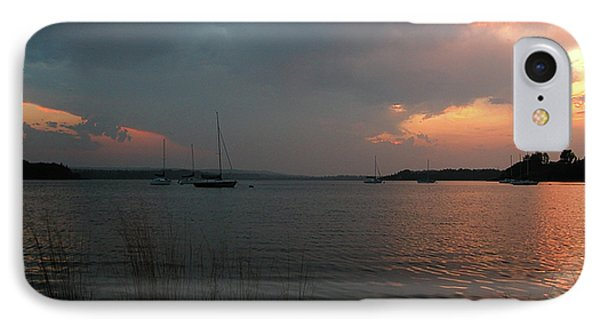 Glenmore Reservoir - Sunset 3 IPhone Case by Stuart Turnbull