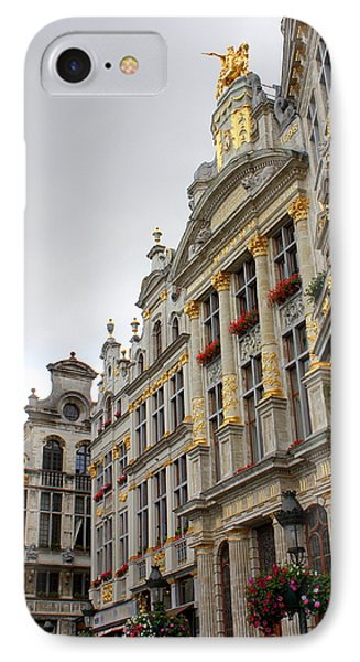 Golden Grand Place Phone Case by Carol Groenen