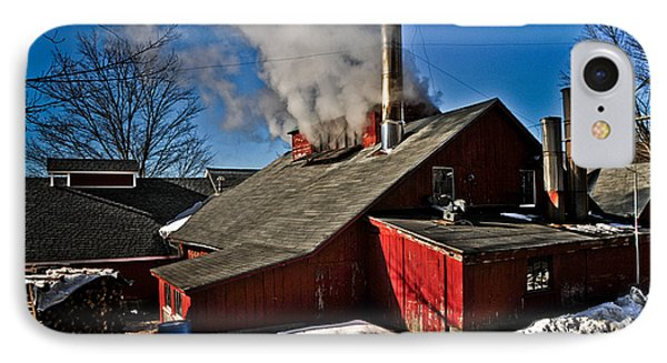 IPhone Case featuring the photograph Goulds Sugarhouse by Mike Martin