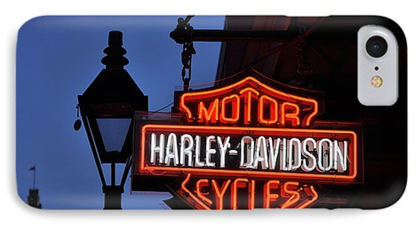 Harley Davidson New Orleans Phone Case by Bill Cannon