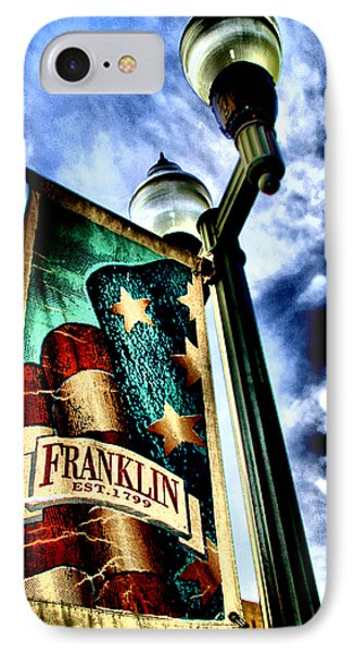 Historic Downtown Franklin IPhone Case by Ione Starr