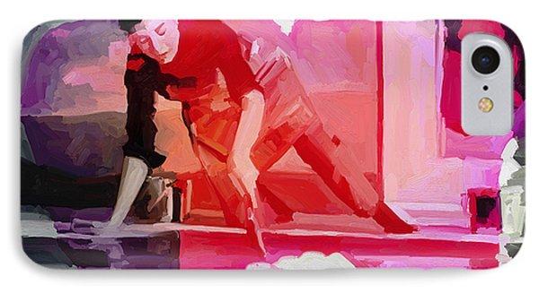 Homage To Helen Frankenthaler 1928 2011 IPhone Case by Nop Briex