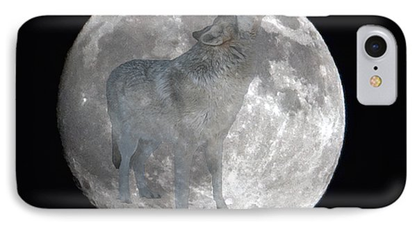 Howl At The Moon IPhone Case
