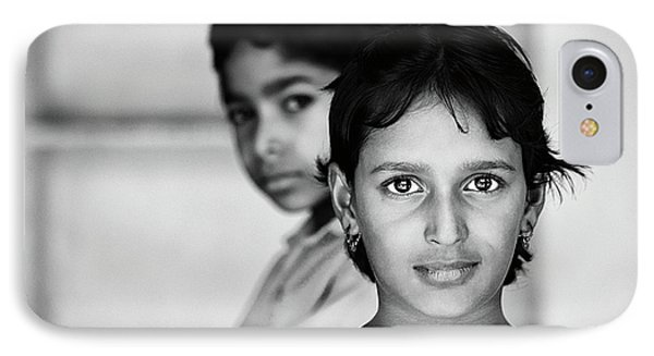 IPhone Case featuring the photograph Indian Eyes by Stefan Nielsen