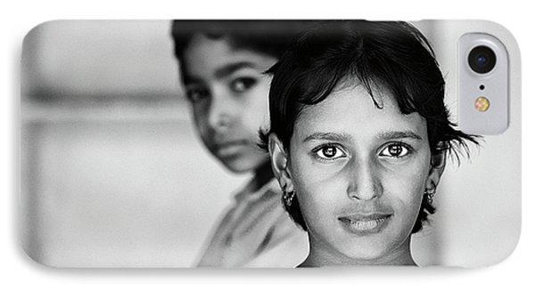Indian Eyes IPhone Case by Stefan Nielsen