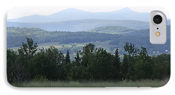 Jay Peak From Irasburg IPhone Case by Donna Walsh