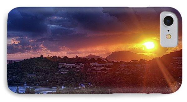 Kaneohe Sunrise Phone Case by Dan McManus