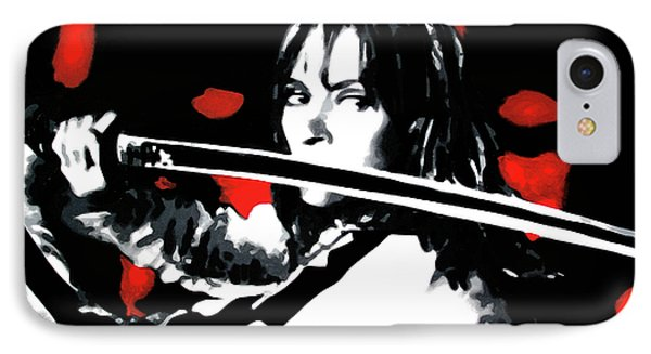 Kill Bill IPhone Case by Luis Ludzska