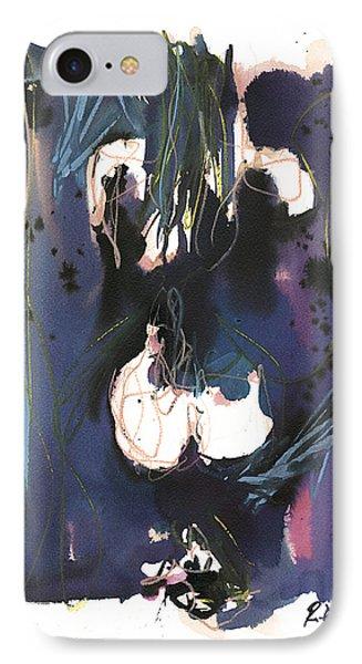 IPhone Case featuring the painting Kneeling by Robert Joyner