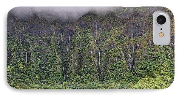 Ko'olau Waterfalls IPhone Case by Dan McManus