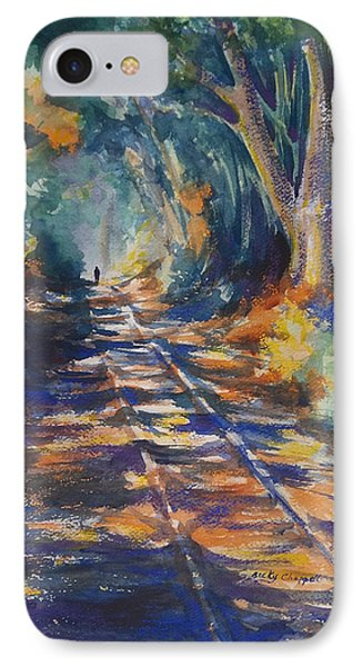 Light At The End Of His Life IPhone Case by Becky Chappell