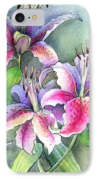 Lilies Phone Case by Khromykh Natalia