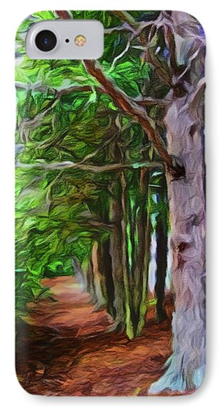 Lincoln's Path IPhone Case by Joan Reese