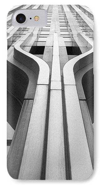 Look Up A Twin Tower IPhone Case by Darcy Michaelchuk