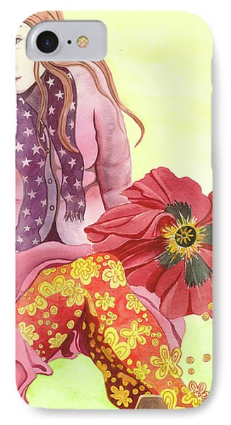 Margaret's Magic Stockings IPhone Case by Sheri Howe