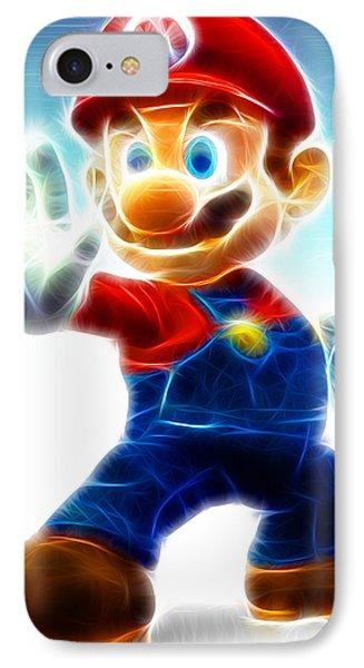 Mario Phone Case by Paul Van Scott