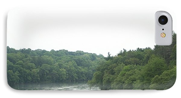 Mighty Merrimack River IPhone Case by Barbara S Nickerson